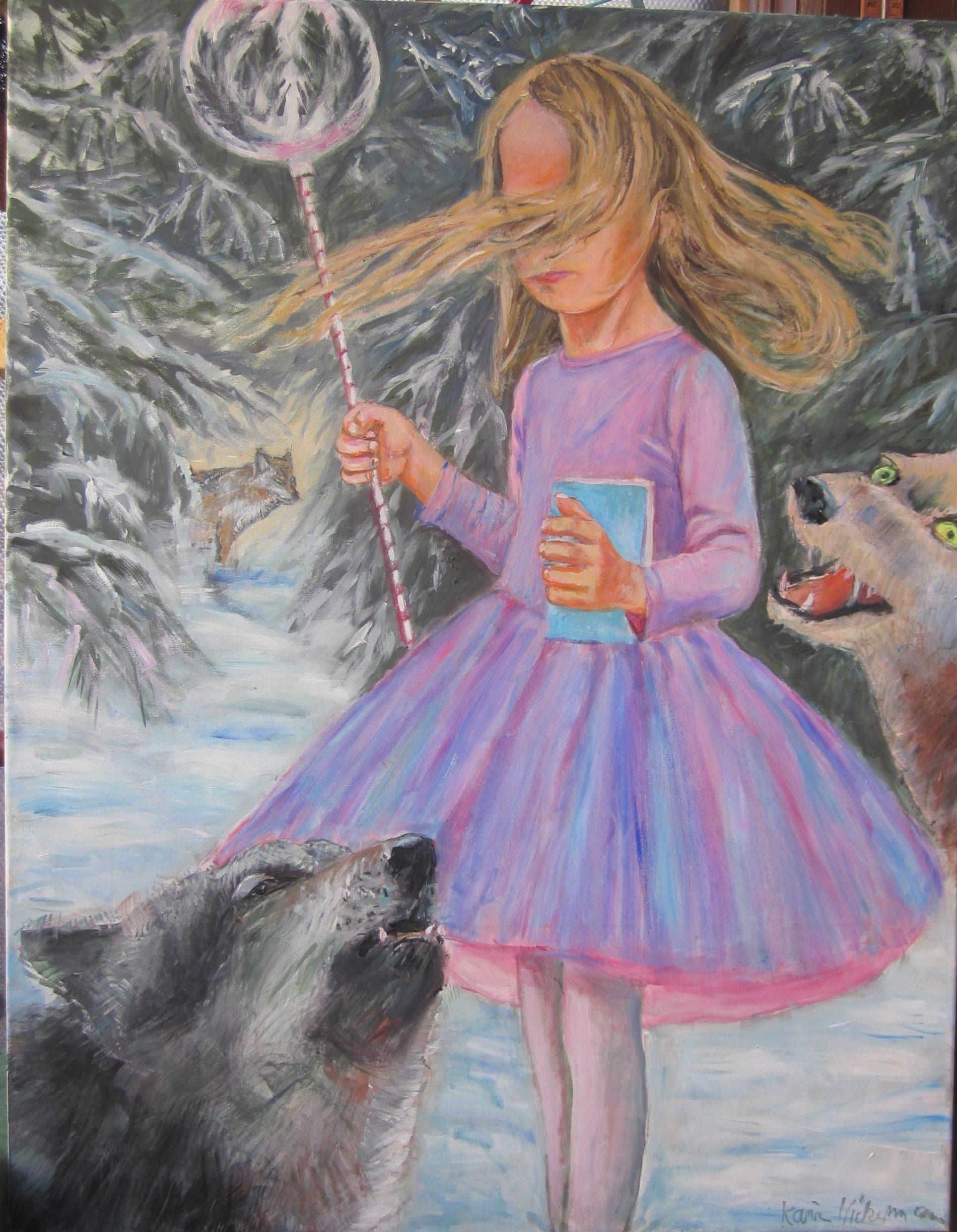 Die Herrin der Wölfe oder Mädchen mit blauem Buch