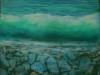 Steiniger Strand Acryl/Leinwand 50x60cm