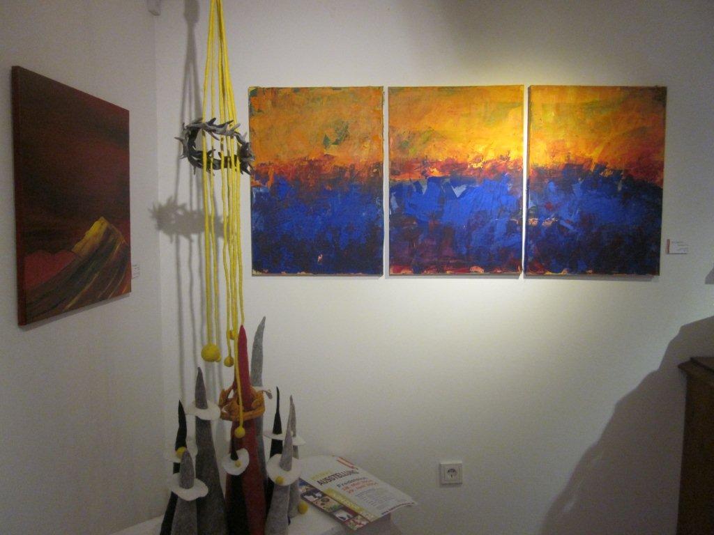 Blaue Berge: Karin Vickermann: Galerie Cyrny