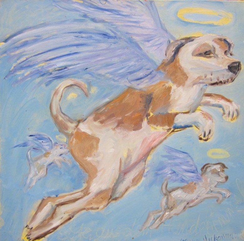 Karin Vickermann Botschaft aus dem Hundehimmel